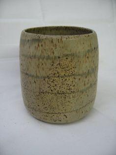 Speckled Matte Studio Pottery Vase by Modarts1 on Etsy