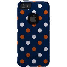 Auburn OtterBox - Custom OtterBox Commuter Case - Apple iPhone 5 - Auburn University Tigers Colors - AU - War Eagle.