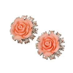 If you own precious jewelry such as diamond earrings, pendants, diamond rings, or other fine fashion jewelry items, you can keep these products for a lifetime if you look after them. Gold Earrings Designs, Coral Earrings, Coral Jewelry, Bridal Jewelry, Stud Earrings, Coral Bracelet, Beaded Jewellery, India Jewelry, Jewellery Designs