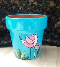 A More macetas pintadas Feria de Quilmes Paint Garden Pots, Painted Plant Pots, Painted Flower Pots, Clay Pot Projects, Clay Pot Crafts, Pottery Painting, Ceramic Painting, Paint Brush Art, Dot Art Painting