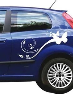 CAR DECALS by WALLTAT or CARTATs as we like to call them go beyond pinstripes and bumber stickers. Show your style and personality with one of these great designs and turn heads everywhere you drive. Add flowers, butterflies, and even wings to your car in an instant (note: car will still not fly) CARTAT decals are great for new and used cars. Get one for your car or give one as gift.