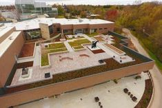 Learn more about Frederik Meijer Gardens opens the Stuart and Barbara Padnos RoofTop Sculpture Garden from LiveRoof. Green Roofs, Garden S, Plant Design, Design Firms, Rooftop, Effort, Deep, Sculpture, Building
