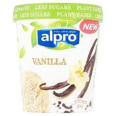 Alpro Soy Vanilla Ice Cream Alternative 500Ml - Groceries - Tesco Groceries