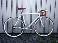 Masil vintage road bike. Campagnolo group