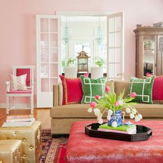 Pink Design Ideas, Pictures, Remodel, and Decor