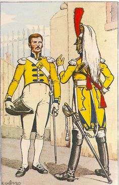 French; 12th Cuirassier Regt., Trumpeters, 1807
