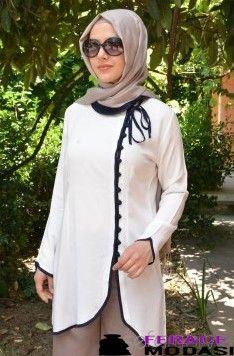 Belemir 2013 Renkli Tunik Modeli Moslem Fashion, Tango Dress, Beautiful Hijab, Mode Hijab, Mom Outfits, Pakistani Dresses, Indian Wear, Hijab Fashion, Prom Dresses