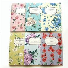 Large Blossom Notebook