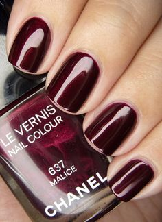 """Chanel """"Malice"""" Le Vernis Nail Colour, from the Holiday 2012 collection."""