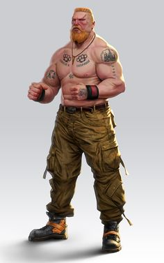 Character design for Dojokun board game done for CMON Street Wrestler Apocalypse Character, Apocalypse Art, Call Of Cthulhu, Character Concept, Character Art, Sci Fi Characters, Gangsters, Fantasy Rpg, Shadowrun