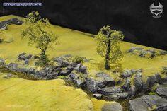 Grass Terrain – Rocky river