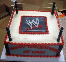 wwe birthday cakes