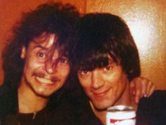 Phil Taylor from Motorhead with Dee Dee Ramone From the Vera Ramone King collection