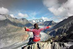 Kraftort Aletsch Arena Enjoy The Silence, Perfect Place, Mount Everest, Relax, Yoga, In This Moment, Pure Products, Mountains, Feelings
