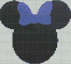 Minnie Mouse Crochet/Cross Stitch Graph
