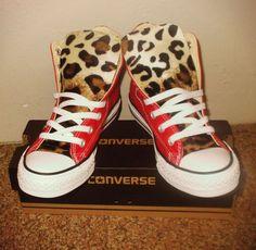 Leopard Converse Schuhe