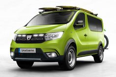 Inspired by recent kite-surfing adventures. We let our imagination run riot to create the perfect SUV antidote Dacia Logan, Audi, Land Rover Discovery Sport, Bmw Autos, Mini Camper, Mini Countryman, Suzuki Jimny, First Drive, Benz S