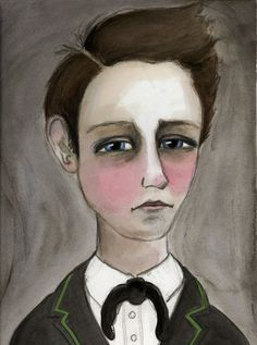 Bluehour Studio The Art and Illustration of Debra Styer: My Illustrated Ode to Arthur Rimbaud