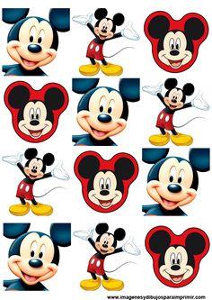 pegatinas para imprimir de mickey mouse                                                                                                                                                                                 Más