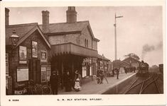 Spilsby station. Close To Home, Locomotive, Abandoned, Trains, House Styles, Image, Left Out, Locs, Ruins
