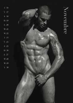 Calendrier Gay.Photography