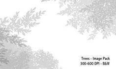 Trees- 300-600DPI by screentones.deviantart.com on @DeviantArt