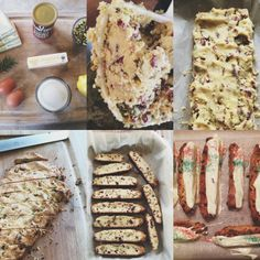 Giada's Holiday Biscotti --Perfect for holiday tradition or just when having girlfriends over for tea & coffee