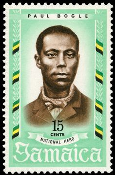 #PaulBogle (ca. 1820 – 1865) was a #Jamaican #Baptist deacon and is a National Hero of Jamaica. He was a leader of the 1865 Morant Bay Protests, which agitated for justice and fair treatment for all in Jamaica. Leading the #MorantBayRebellion, he was captured and hanged on 24 October 1865 in the Morant Bay Court House by the United Kingdom authorities.
