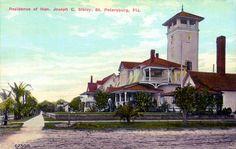 Florida Memory - Residence of Honorable Joseph C. Sibley - Saint Petersburg, Florida