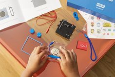 Make a skateboard-triggered camera, a voice-warping speaker, or anything else you can dream up. Kano Computing's new creative tech kits let aspiring hardware hackers explore interactive programming.