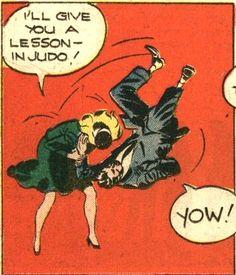 A Lesson in Judo