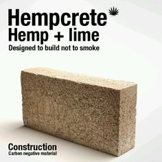 Hempcrete is an amazing natural building material. Energy-efficient, non-toxic a… Hempcrete is an amazing natural building material. Energy-efficient, non-toxic and Green Architecture, Sustainable Architecture, Sustainable Design, Sustainable Living, Residential Architecture, Contemporary Architecture, Sustainable Ideas, Sustainable Building Materials, Smart Materials