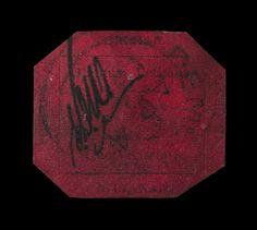 El sello más caro del mundo 7/15EL SELLO MÁS CARO DEL MUNDOEl sello Magenta de un penique de Guayana Británica, emitido en 1856 y único superviviente de una serie especial reducida impresa en la entonces colonia británica. El sello ha alcanzado el precio récord de 9 millones  de dólares (6,6 millones de euros) en una subasta de la casa Sotheby's en Nueva York. (Sotheby's / EFE)  Ver más en: http://www.20minutos.es/fotos/actualidad/las-mejores-fotos-de-la-semana-9948/#xtor=AD-15&xts=467263