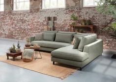 Q Punto hoeksalon M-leder Kentucky — Q-Time Lounge, Belgian Style, Hygge Home, Modern Design, Ottoman, Sweet Home, New Homes, Home And Garden, Couch