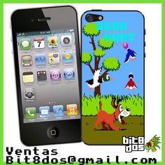 Case Duck Hunt #pixelart Te elaboramos cualquier diseño de videojuegos. Más información en bit8dos@gmail.com