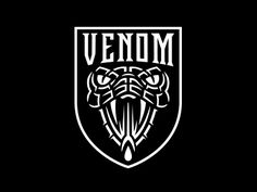 Venom designed by Zach Shuta. Connect with them on Dribbble; the global community for designers and creative professionals. Custom Badges, Custom Logos, Typographic Logo, Badge Logo, Modern Graphic Design, Minimalist Design, Animal Logo, Pictogram, Logo Design Inspiration
