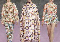 London Fashion Week Womenswear Print & Pattern Highlights Part 1 – Spring/Summer 2016