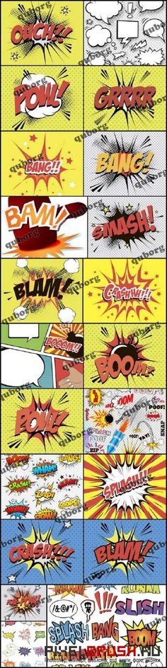 Stock Vector - Comic Sound Effects