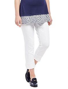 Motherhood Maternity White Wash Cropped Jeans - White S Jeans For Sale, Clothes For Sale, Maternity Jeans, Jeans Dress, White Denim, Trendy Plus Size, Skinny Legs, Cropped Jeans, New Dress