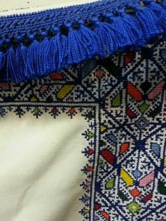 Fez embroidery. Morocco