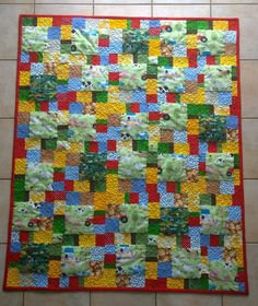 Babyquilt Bauernhof Fantasy, Quilts, Blanket, Blog, Imagination, Quilt Sets, Quilt, Fantasy Movies, Rug