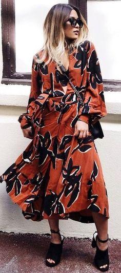 #summer #casualchic #outfits | Boho Maxi Dress