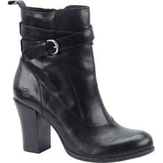 SALE - Born Chyler Western Boots Womens Black Leather - Was $165.00 - SAVE $16.00. BUY Now - ONLY $149.00