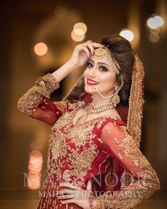 Most Beautiful Collection Of Pakistani Bridel Makeup Bridal Mehndi Dresses, Pakistani Bridal Makeup, Desi Wedding Dresses, Bridal Dress Design, Bridal Outfits, Indian Wedding Couple Photography, Indian Wedding Bride, Bridal Photography, Elegant Wedding