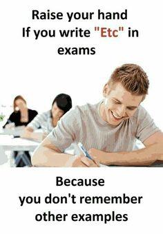 It happens exams funny, funny school jokes, school humor, exam quotes funny, Funny School Answers, Funny School Jokes, Very Funny Jokes, Really Funny Memes, School Memes, Funny Facts, Hilarious Jokes, Crazy Funny Memes, Exam Quotes Funny