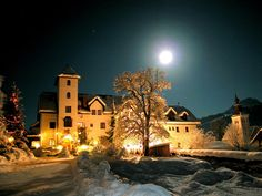 850-year-old Castle Hotel Thannegg, in a wonderfully peaceful setting, located between the Dachstein Massif and the Tauern range, in Styria province