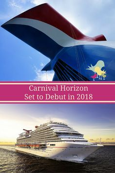 Carnival Cruise Line's Next Ship To Be Named #CarnivalHorizon. Debuts in May 2018. #HelloHorizon via @carriemclaren1
