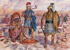 The Second Punic War - Carthaginian officer, Centurion of the Socii Piceni and Etruscan centurion