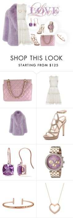 """""""Love"""" by seoulstyler ❤ liked on Polyvore featuring Chanel, Naeem Khan, Blumarine, Versace, Miadora, Juicy Couture, Allurez and Swarovski"""