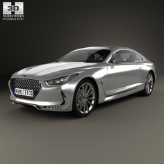 Hyundai Vision G 2015 3d model from Humster3D.com
